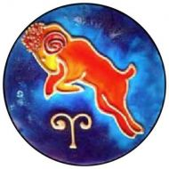 KR_ARI_MED Zodiac - Aries Sign (Medium)