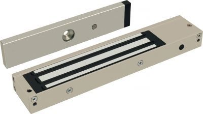 EM600S-Mag.Ctc Single Magnetic Lock with 600 lbs Holding Force and Integral Magnetic Contact