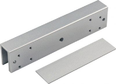EM600-U1 Bractek for the attachment of EM600 Series Armature Plates to Frameless Glass Doors